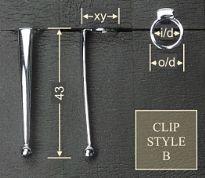 Clip style B